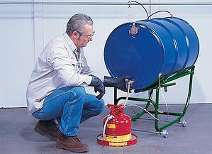 justrite drum storage dispensing safety