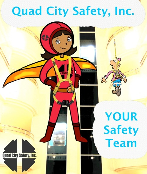 Quad City Safety Hero poster