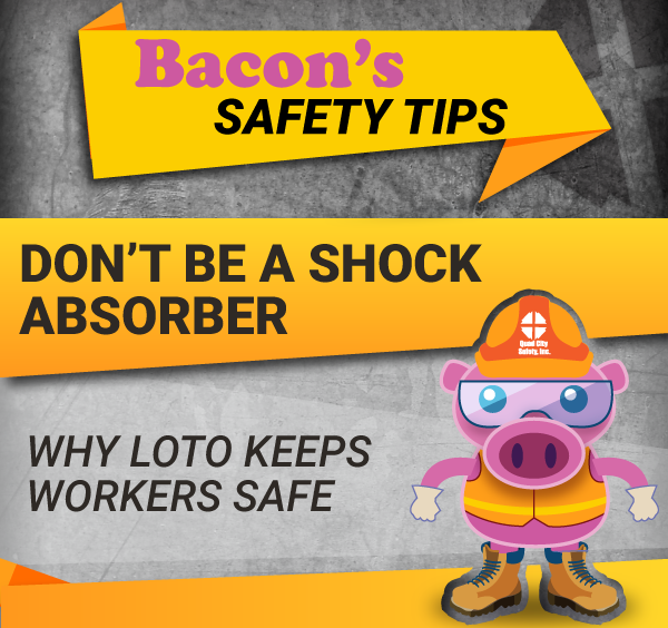 Bacon's Safety Tip: Remember This When You Want to Take a LOTO Shortcut!